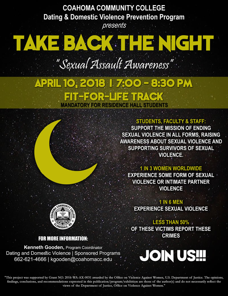 Take Back the Night - Sexual Assault Awareness