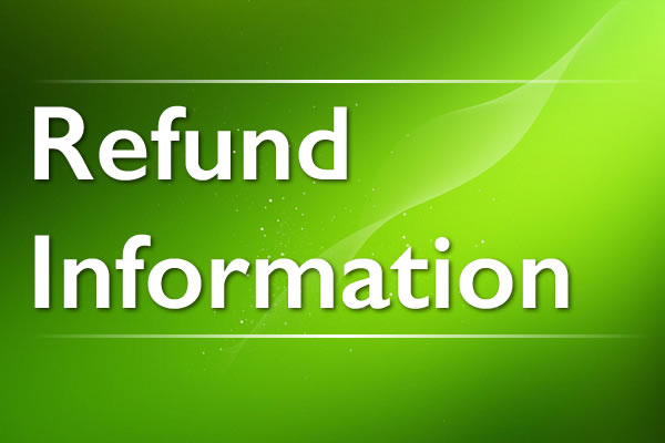 Refund Information