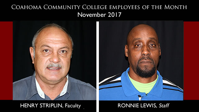 November 2017 Employees of the Month