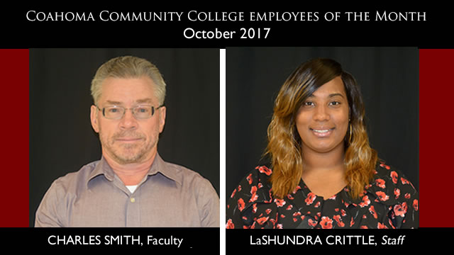 October 2017 Employees of the Month