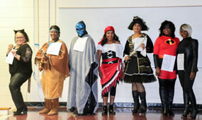 Costume Contest Participants