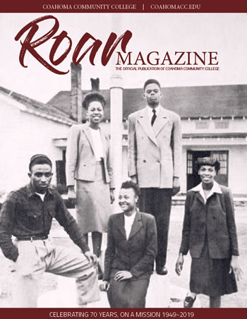 Roar Magazine Cover