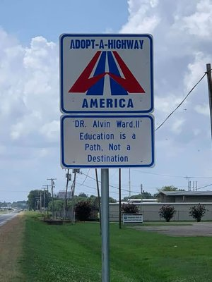 Dr. Alvin Ward Adopt a Highway