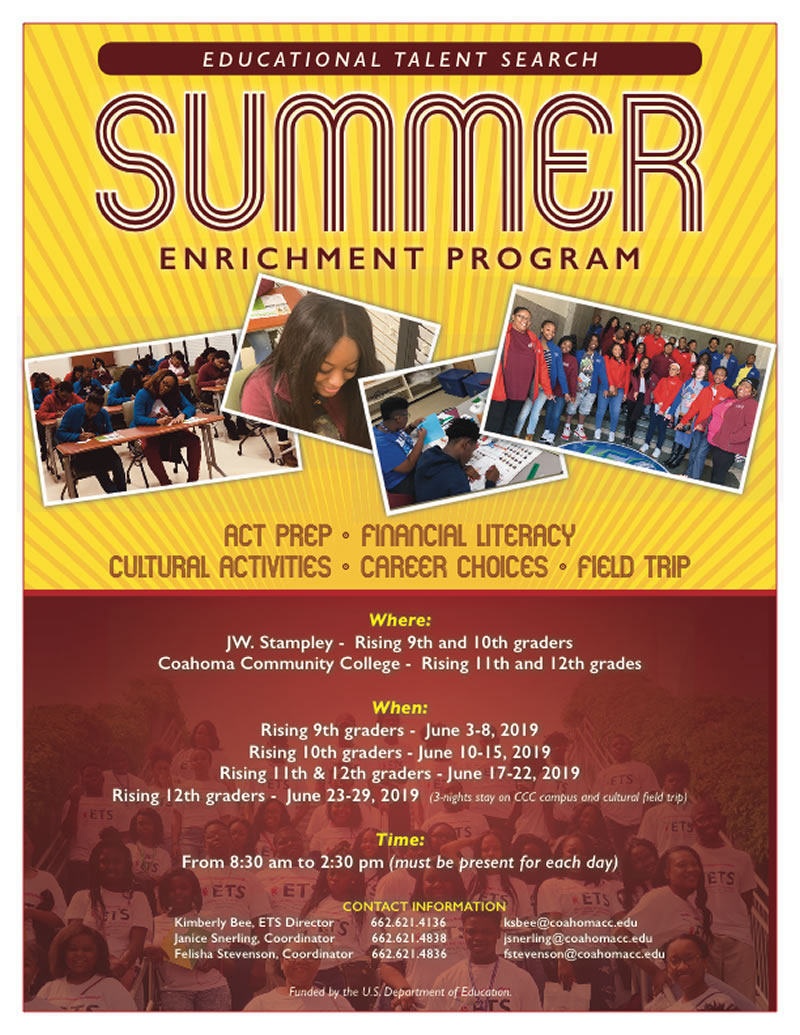 Educational Talent Search Summer Enrichment Program